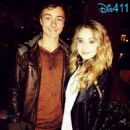 Peyton Meyer and Sabrina Carpenter