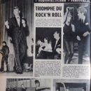 Johnny Hallyday - Festival Magazine Pictorial [France] (31 October 1961) - 454 x 614