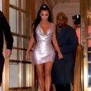 Kim Kardashian – Arrives at the Versace Fashion Show in New York