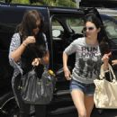 Kendall Jenner jetting out of LA Airport to New York  (July 2).