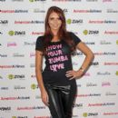 Amy Childs attends Pink Zumbathon Party in aid of Breakthrough Breast Cancer at Alexandra Palace on October 16, 2011 in London, England