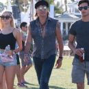 Richie Sambora and Ava Sambora at Day 3 of first weekend of The Coachella Valley Music and Arts Festival in Coachella, California on April 11, 2015 - 423 x 600