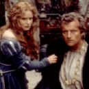 Jennifer Jason Leigh and Rutger Hauer in Flesh+Blood (1985)