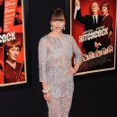 Jessica Biel seen attending the premiere of new film 'Hitchcock' held at the Ziegfeld Theater in New York City