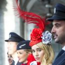 Suki Waterhouse on British Airways Advertising Campaign Shoot in Milan February 24, 2017