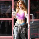 Bella Thorne – Leaving a Yoga Class in West Hollywood 09/13/2016 - 454 x 681