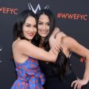 Brie and Nikki Bella – WWE FYC Event in Los Angeles - 454 x 559