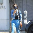 Jessica Alba – In denim jacket out in Los Angeles - 454 x 658