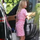 Reese Witherspoon in Pink Dress – Out in Beverly Hills