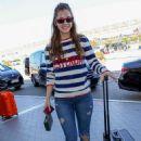 Barbara Palvin – Spotted at Nice Airport - 454 x 681