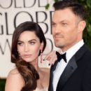 Megan Fox and Brian Austin Green At The 70th Golden Globe Awards (2013) - 413 x 594