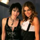 Joan Jett and Carmen Electra