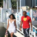 Amaury Nolasco and Dayanara Torres in Malibu