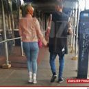 Amber Rose and Machine Gun Kelly Strolling in New York City - April 27, 2015