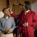 (L-r) BOW WOW as Kevin Carson and MIKE EPPS as Reverend Taylor in Alcon Entertainment's comedy 'LOTTERY TICKET,' a Warner Bros. Pictures release. Photo by David Lee - 454 x 302