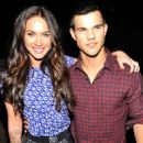 Megan Fox and Taylor Lautner At the Teen Choice Awards - August 8, 2010