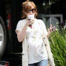 Isla Fisher - At Starbucks In Beverly Hills, 2010-05-10