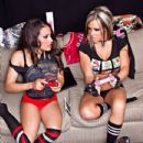 Velvet Sky & Rosita Playing Games