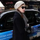 Anne Hathaway out in London, March 4, 2011