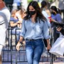 Courteney Cox – In denim while shopping on Melrose Place in West Hollywood