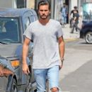Scott Disick is spotted out running errands in West Hollywood, California on July 1st, 2016 - 396 x 600
