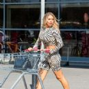 Bianca Gascoigne – Shopping at Sainsburys in Kent