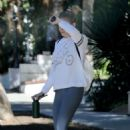 LeAnn Rimes in Tights – Out in West Hollywood - 454 x 681