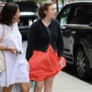 Lena Dunham is spotted outside her hotel in New York City, New York on June 6, 2016 - 411 x 600