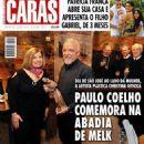 Paulo Coelho and Christina Oiticica
