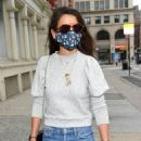 Katie Holmes – Shopping in NYC for CeraVe Hydrating Facial Cleanser