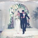 Lauren Conrad and William Tell's Wedding Day September 13, 2014 - 454 x 456