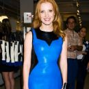 Jessica Chastain arrived at Jeffrey