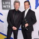 Jon Bon Jovi during the 2017 CFDA Fashion Awards at Hammerstein Ballroom on June 5, 2017 in New York City - 399 x 600