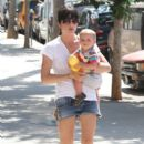 Selma Blair: out at the Farmers Market with a friend in Ventura