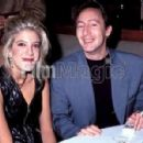 Julian Lennon and Tori Spelling