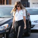 Dakota Johnson – Leaving Mèche Salon in West Hollywood