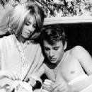 Catherine Deneuve and Johnny Hallyday