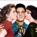 Elvis Presley and Dolores Hart