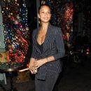 Alesha Dixon – Leaving S*** Fish Restaurant in London