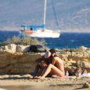 Aurora Ramazzotti – Spotted on a beach In Koufonissia - 454 x 681
