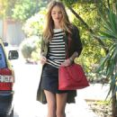 Rosie Huntington Whiteley Out and About In La