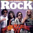 David Lee Roth, Edward Van Halen, Michael Anthony, Alex Van Halen - Classic Rock Magazine Cover [Russia] (April 2012)