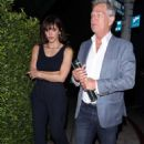Katharine McPhee and David Foster – Arriving to the Simon Cowell 'Hollywood Star Celebration Party' in LA - 454 x 733