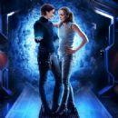 Chyler Leigh (Alex Danvers) and Caity Lotz (Sara Lance)