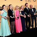 "The Cast of ""Birdman"" At The 21st Annual Screen Actors Guild Awards (2015)"