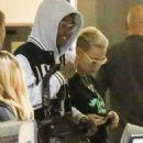 Amber Rose and Wiz Khalifa at LAX in Los Angeles, California - November 15, 2013