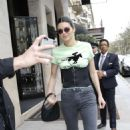 Kendall Jenner – Leaving her hotel in Paris