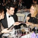 Gemma Arterton and Stefano Catelli attend the Place For Peace dinner at Banqueting House -- London (10-11-2012)