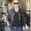 Martin Kemp Arrives at His London Hotel - 291 x 594