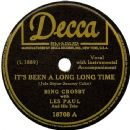 Bing Crosby - It's Been A Long Long Time / Whose Dream Are You